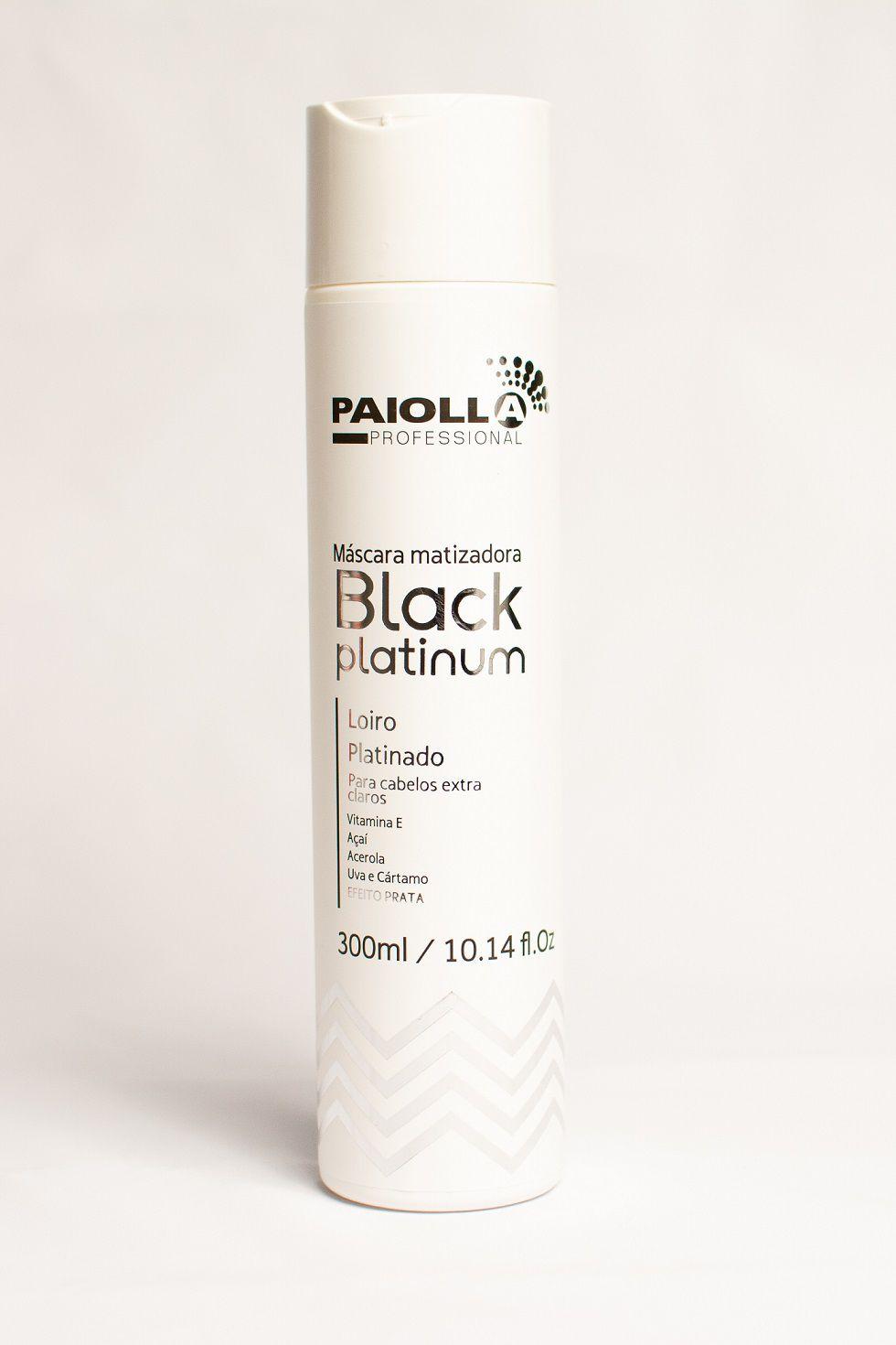 COMBO PROFISSIONAL - 3 Máscara Matizadora Black Platinum