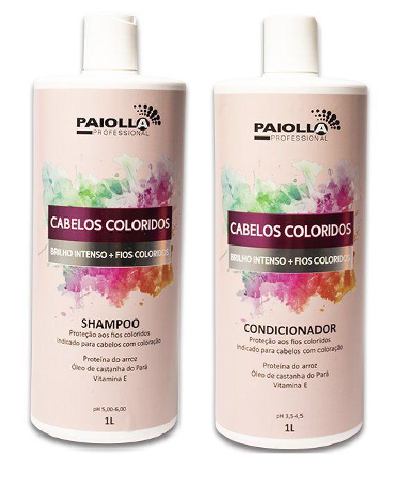 COMBO PROFISSIONAL Shampoo + Condicionador Cabelos Coloridos