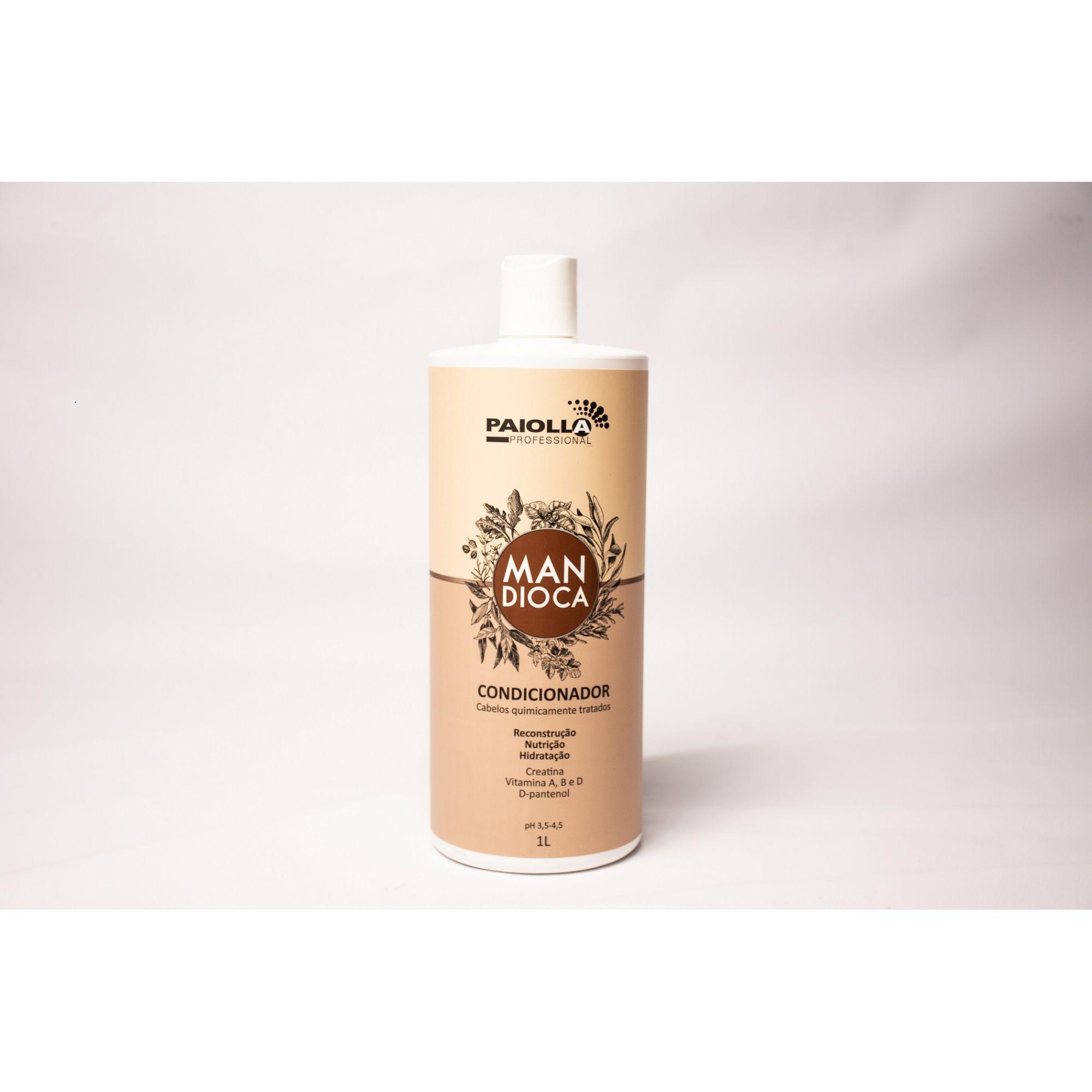 COMBO PROFISSIONAL Shampoo + Condicionador Mandioca