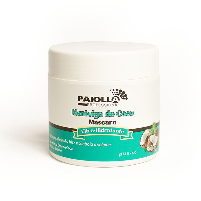 Manteiga de Coco - Máscara Capilar - 500g