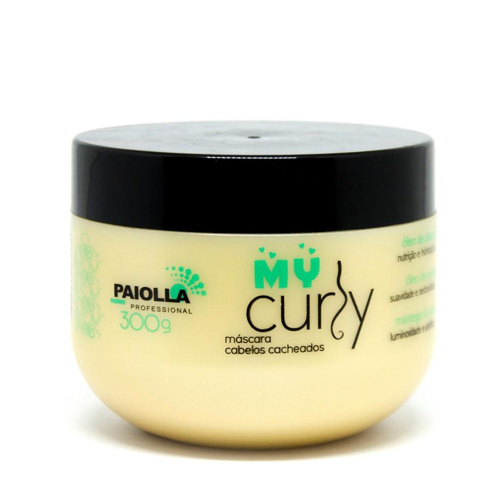 Máscara de Hidratação para Cabelos Cacheados - My Curly - 300g