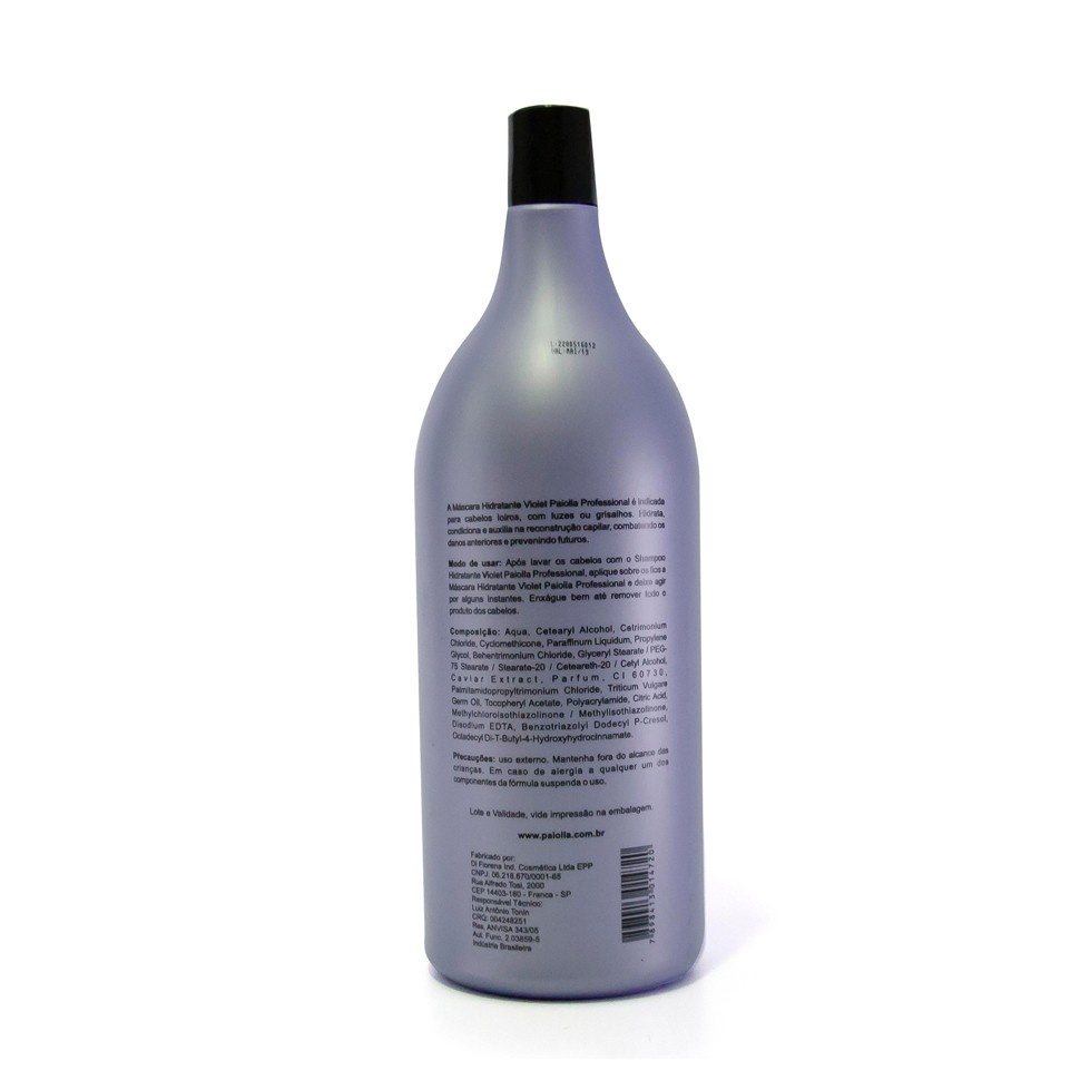 Máscara Hidratante - Matizadora Violet Profissional - 1,5Kg