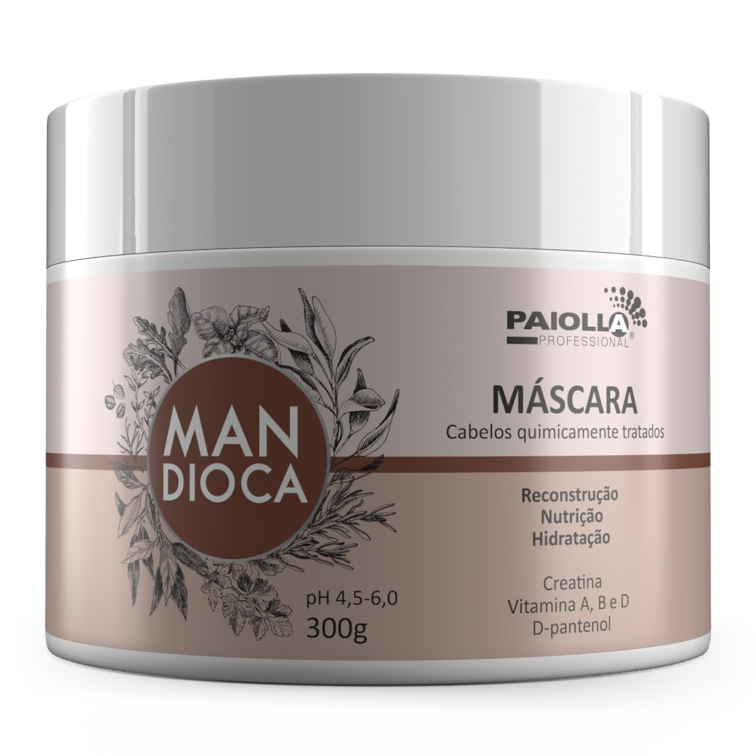 Máscara Mandioca 300g