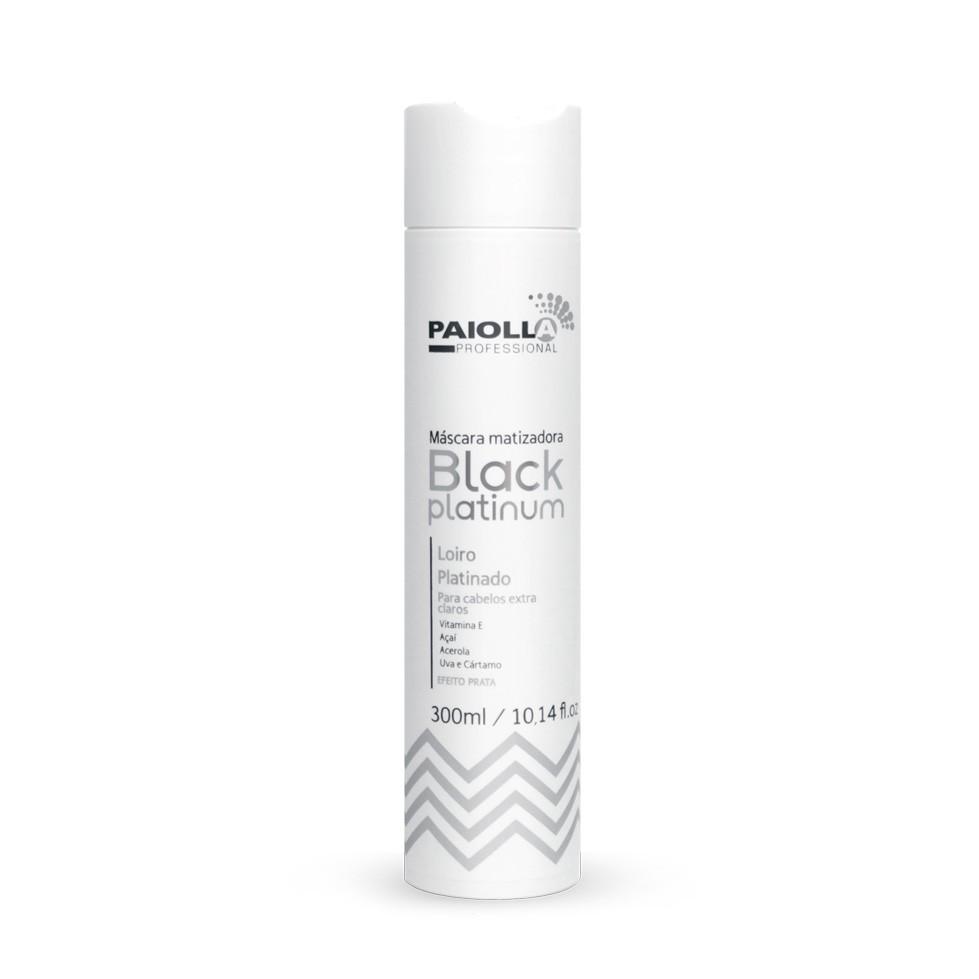 Máscara Matizadora Black Platinum - Loiro Platinado - 300ml
