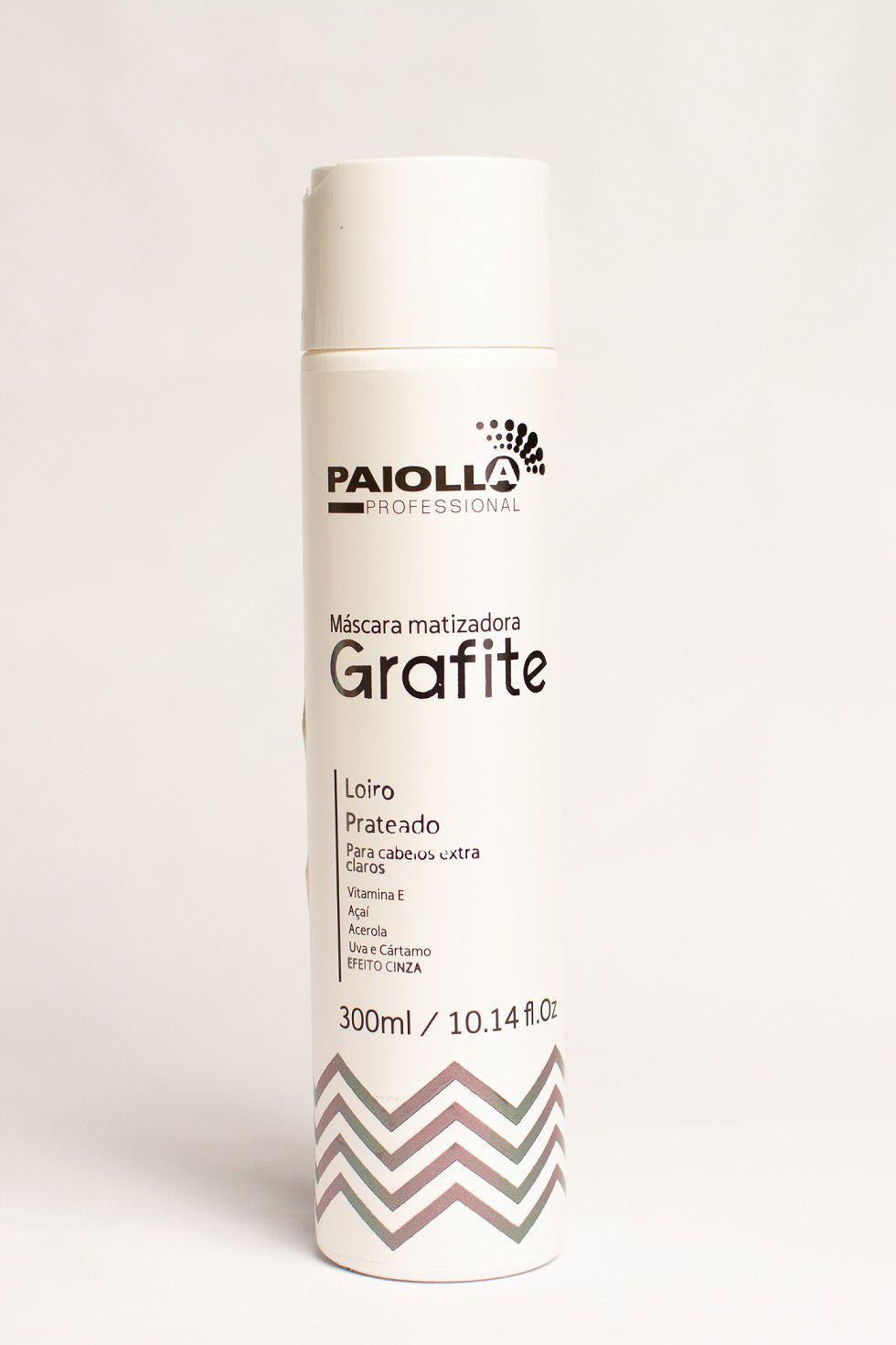 Máscara Matizadora Grafite - Loiro Prateado - 300ml
