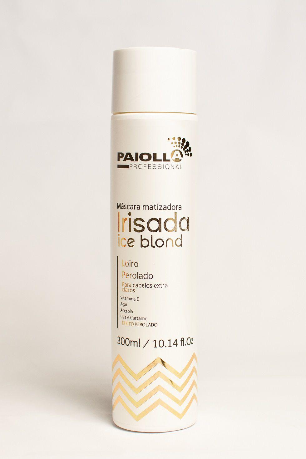 Máscara Matizadora Irisada - Loiro Perolado - 300ml