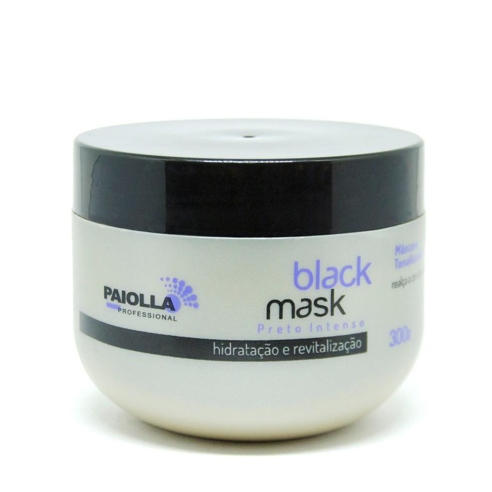 Máscara Tonalizante Preto - Black Mask - 300g