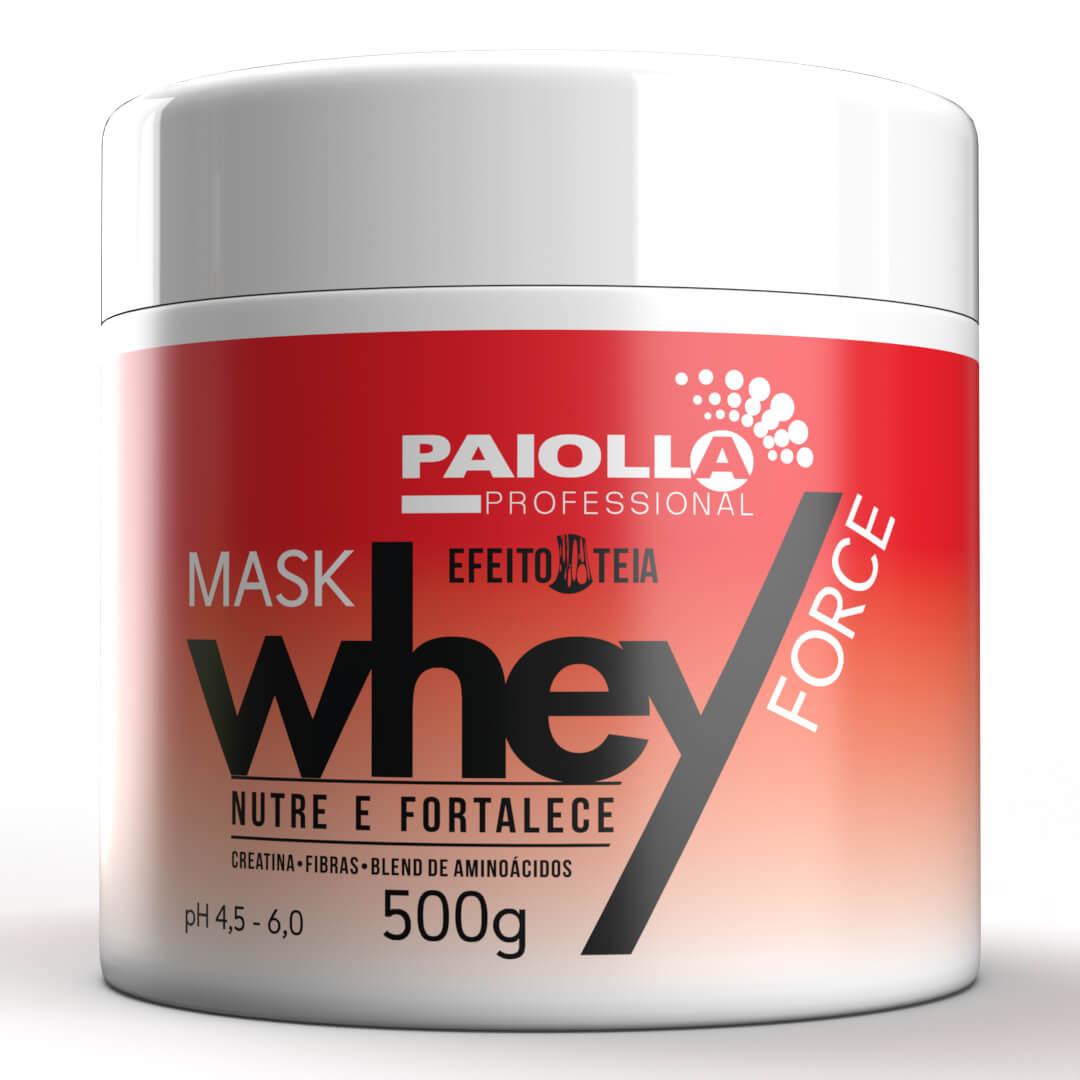 Máscara Whey Force - Proteína para Cabelo - 500g