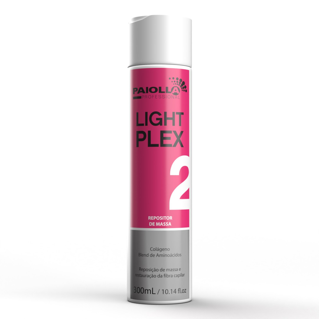 Repositor de Massa Capilar - Light Plex 2 - 300ml