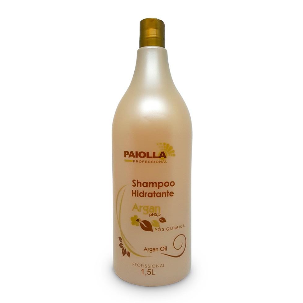 Shampoo Hidratante Argan - Pós Química Profissional - 1,5LT