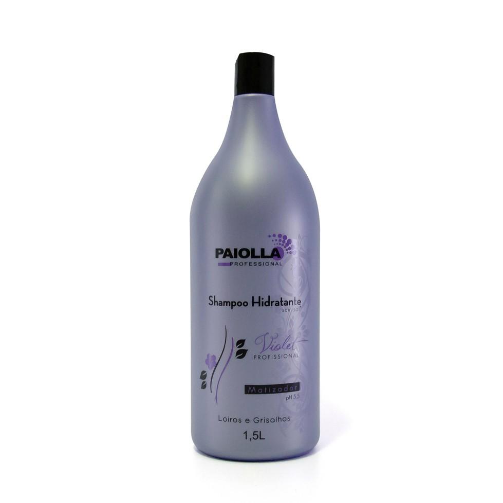 Shampoo Hidratante - Matizador Violet Profissional - 1,5LT