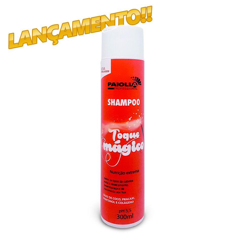 Shampoo Nutrição Capilar - Toque Mágico - 300ml