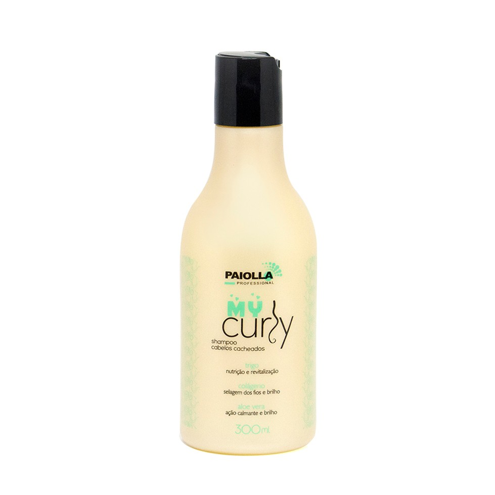 Shampoo para Cabelo Cacheado - My Curly - 300ml