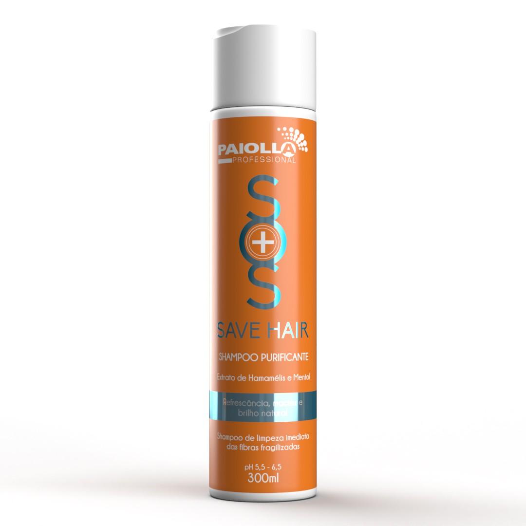 Shampoo para Cabelos Oleosos - Save Hair - 300ml