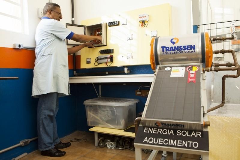 Aquecimento de Água com Energia Solar