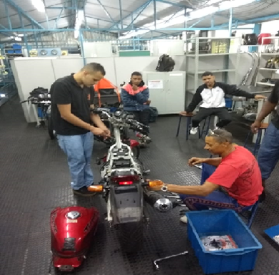 Curso de Mecânica e Elétrica de Motos