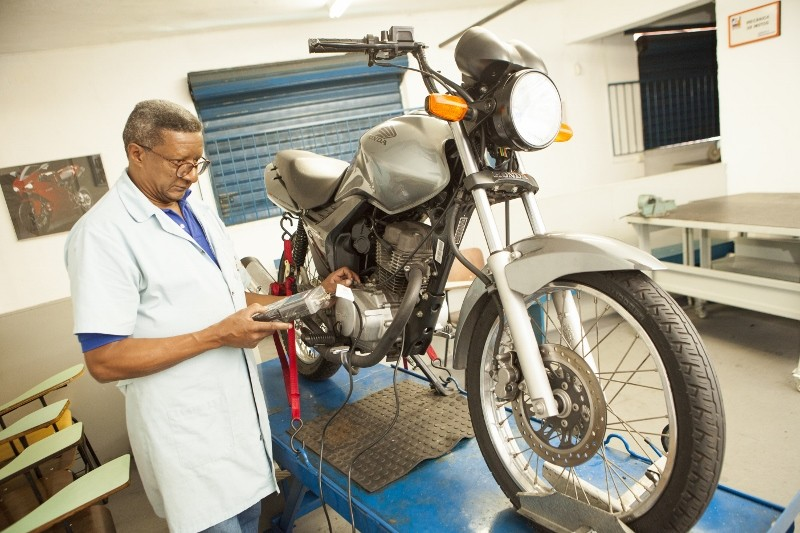 Curso de Mecânica, Elétrica e Injeção de Motos