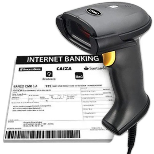 Leitor de Código de Barras Internet Banking BT-901