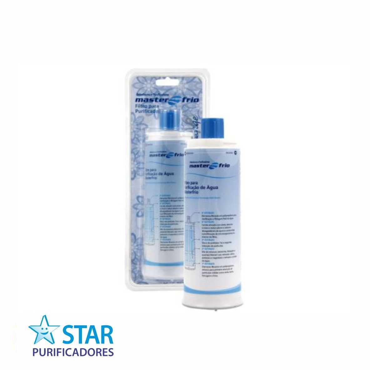 Filtro Masterfrio - Rótulo Azul  - Star Purificadores