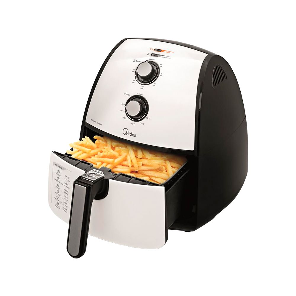 Fritadeira Air Fryer Midea Liva 4L  - Star Purificadores