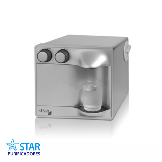 Purificador de água Soft Fit Prata  - Star Purificadores