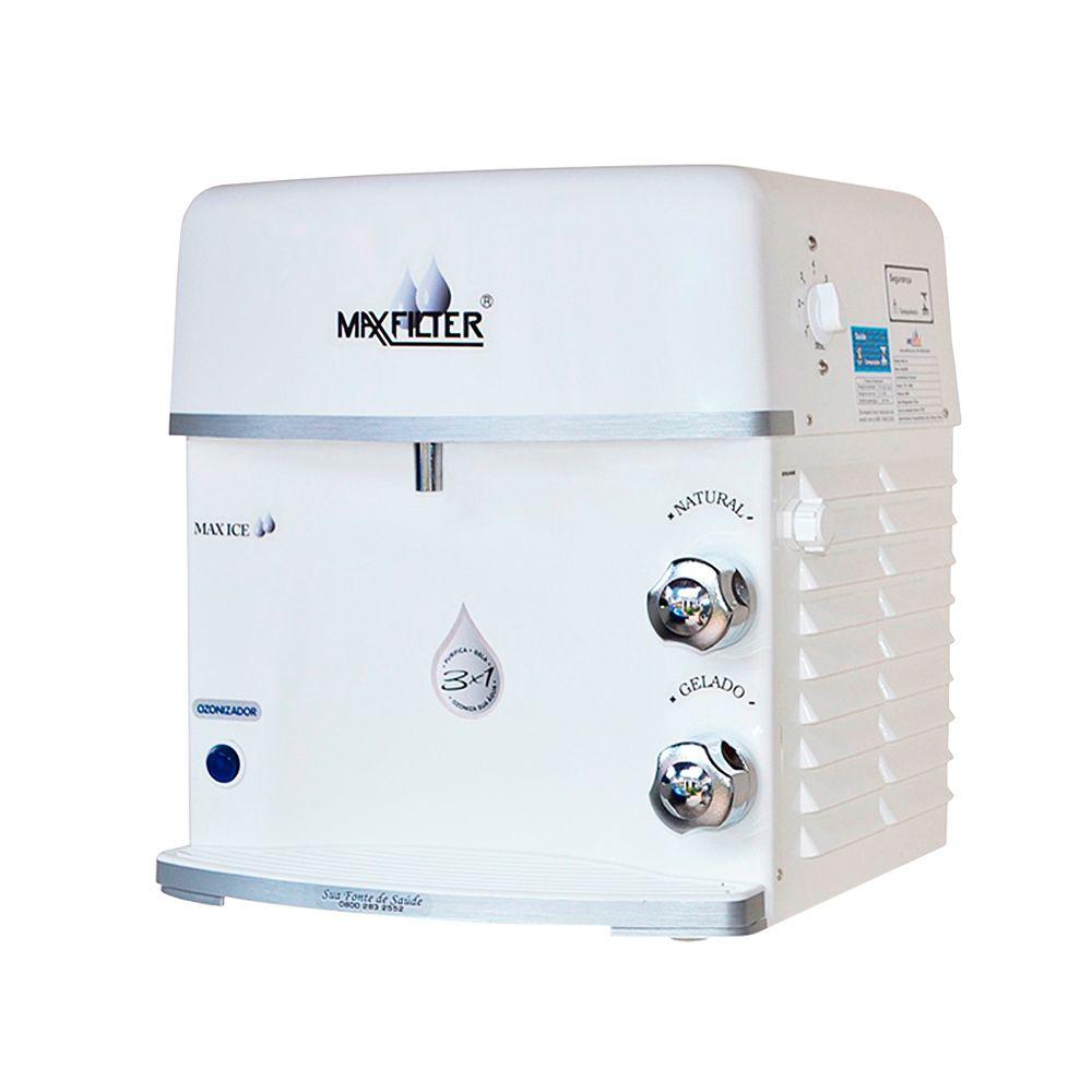 Purificador de água Maxfilter Max Ice com Ozonizador - Branco  - Star Purificadores