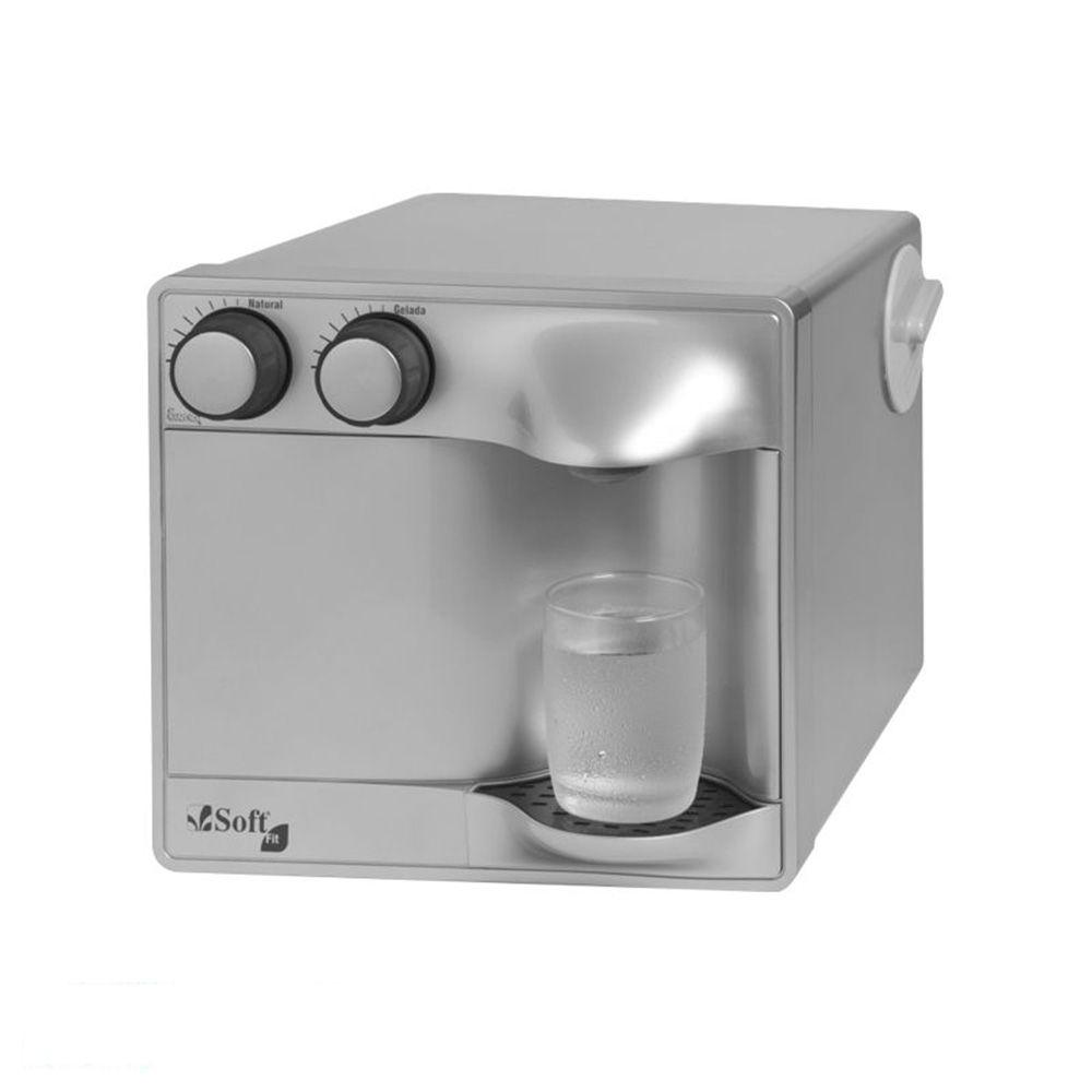 Purificador de água Soft Fit Prata  - MyShop