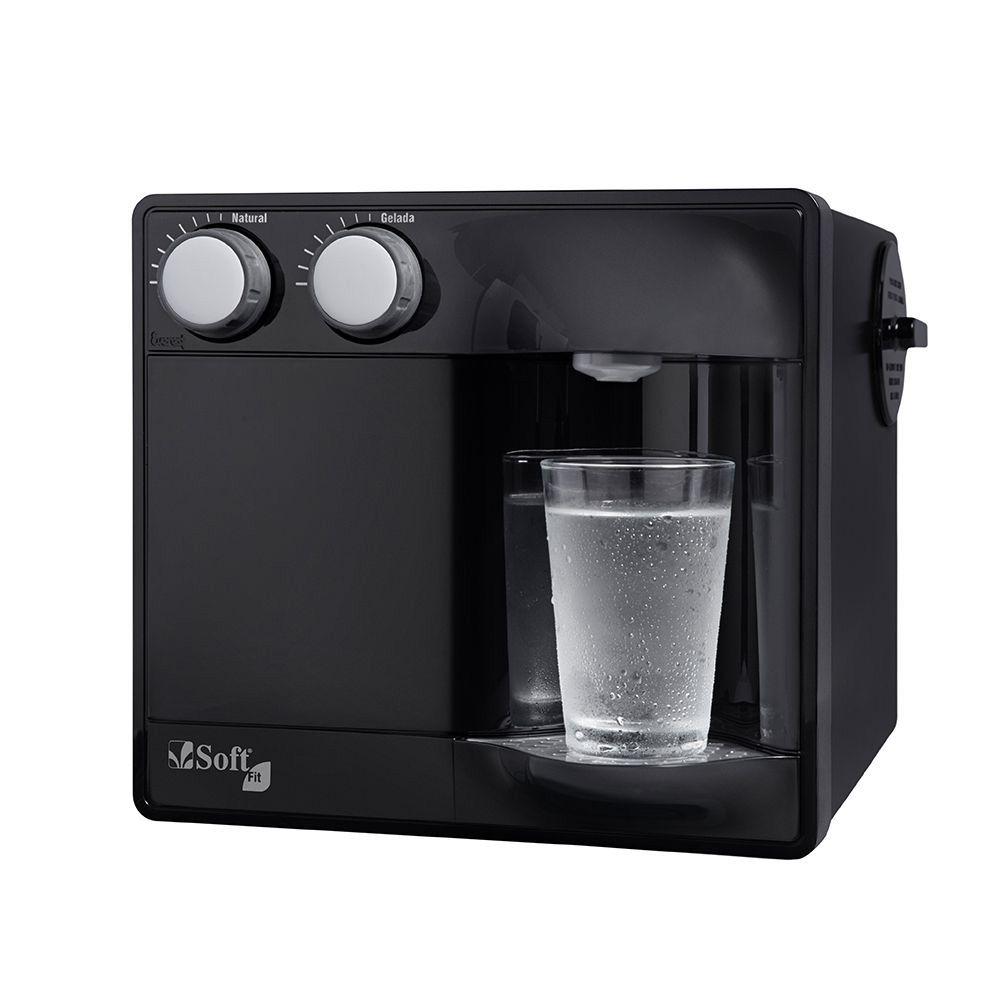 Purificador de água Soft Fit Preto  - MyShop
