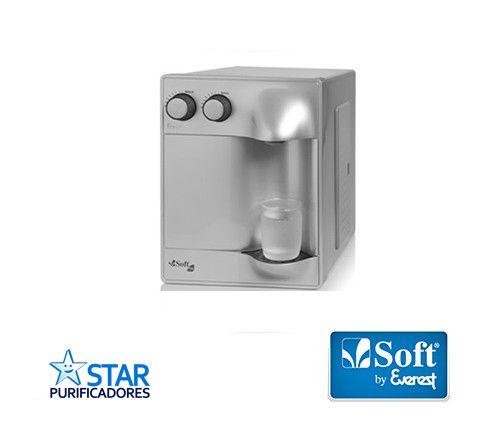 Purificador de Água Soft Plus Prata - 30 pessoas - Empresa  - Star Purificadores