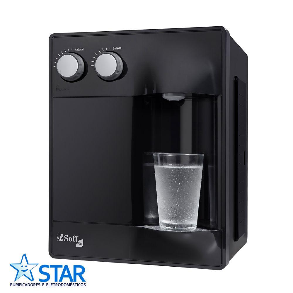 Purificador de água Soft Star Preto  - Star Purificadores