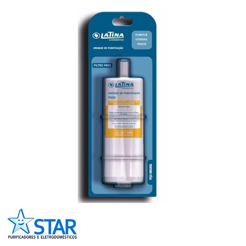 Refil Latina 5 Estágios P655  - Star Purificadores