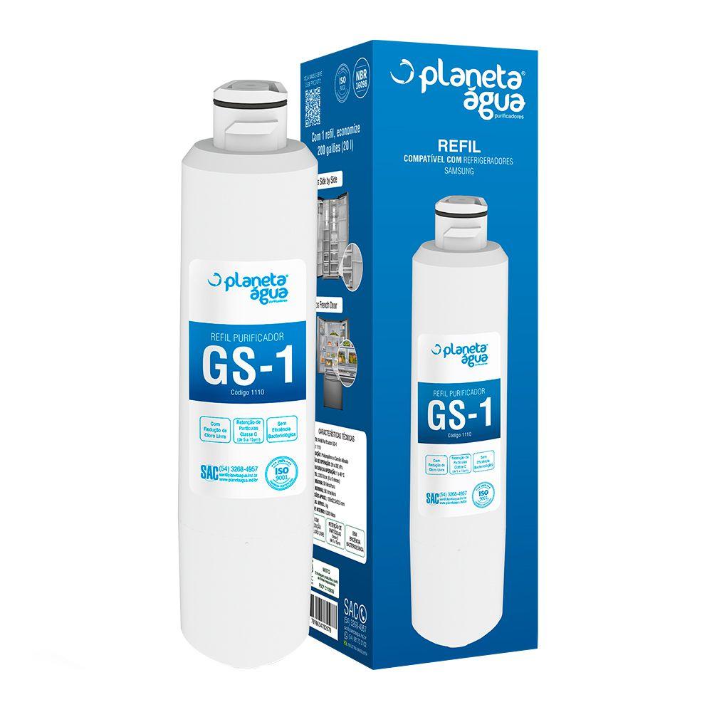 Refil Planeta Água GS-1 compatível com refrigeradores Samsung  - MyShop