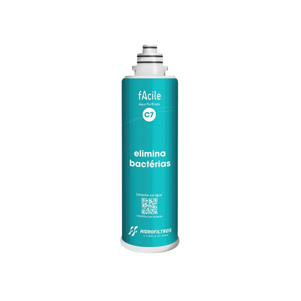 Refil purificador de água Hidrofiltros - Facile C7  - MyShop