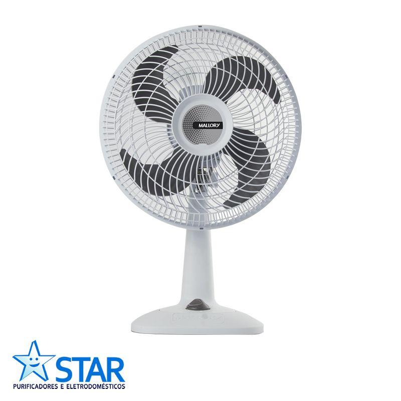 Ventilador 30cm ECO TS Branco/grafite   - Star Purificadores