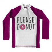Camiseta de Lycra Comfy Please Donut