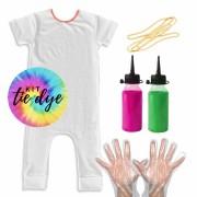 Macacão Comfy Kit Tie Dye Pra Fazer em Casa