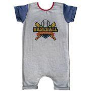 Macacão Curto Comfy Baseball