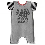 Pijama Comfy Durmo com meus Pais