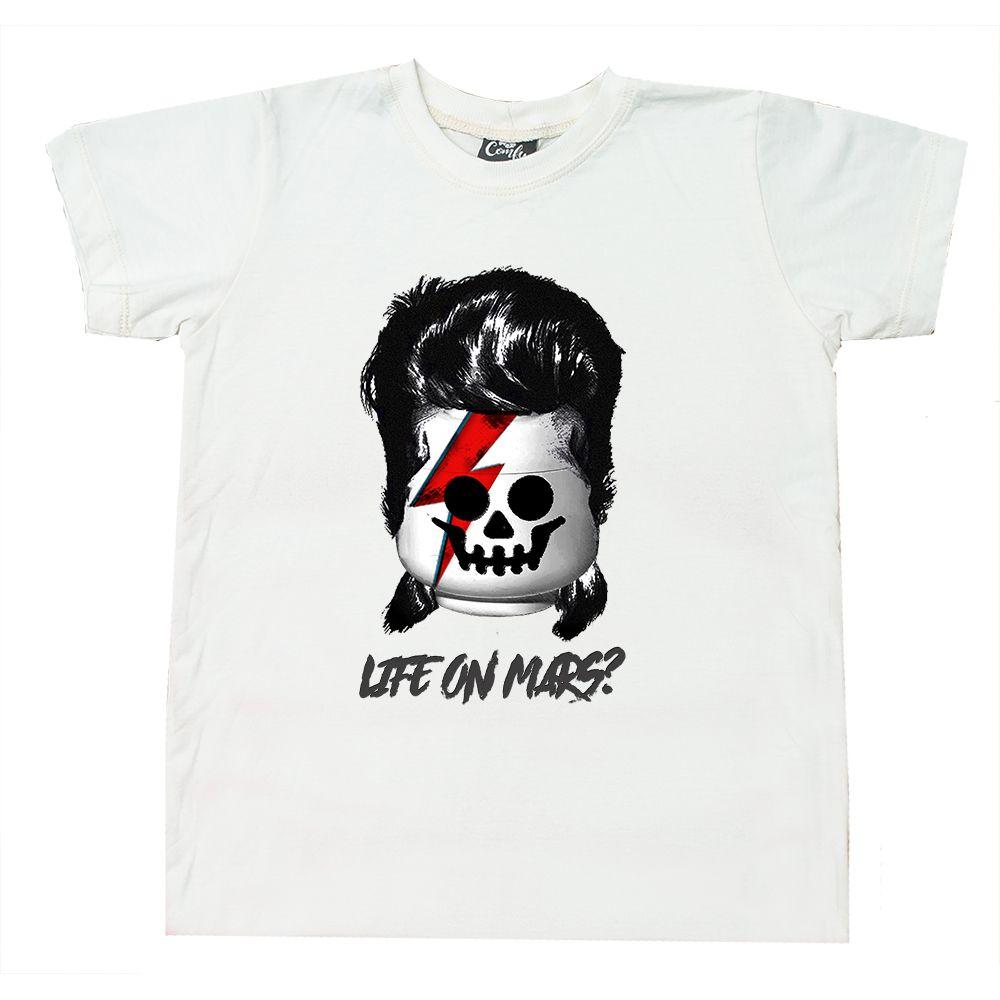 Camiseta Bloco Bowie Branca