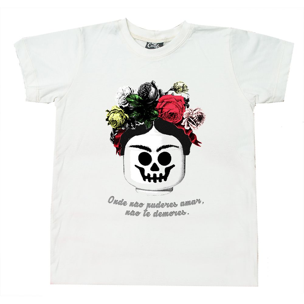 Camiseta Bloco Frida Branca