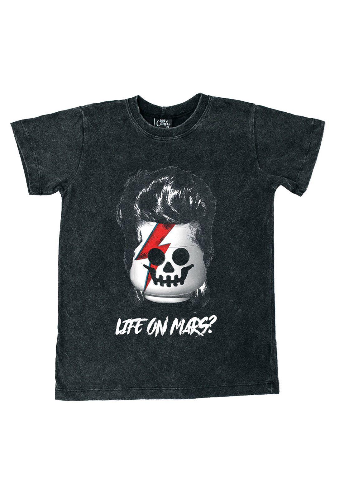 Camiseta Bowie Estonada
