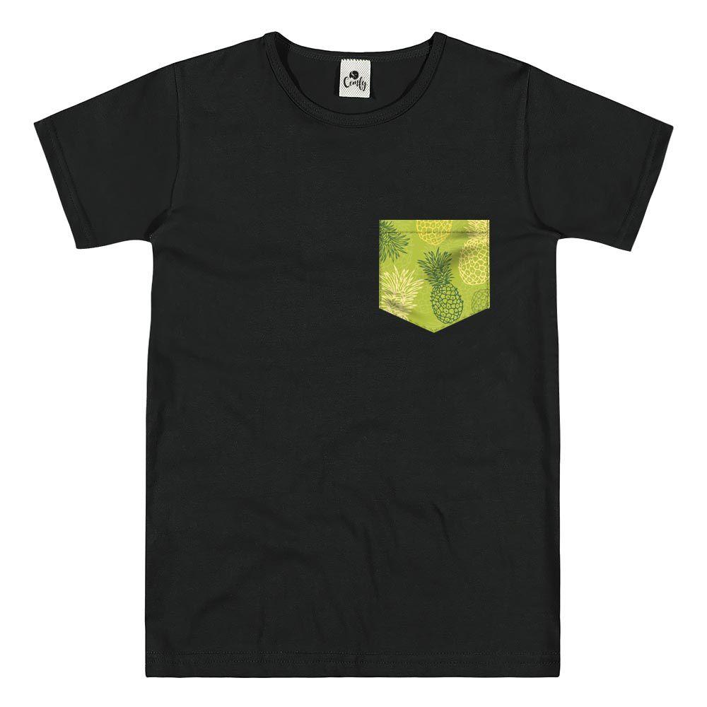 Camiseta Comfy Abacaxi