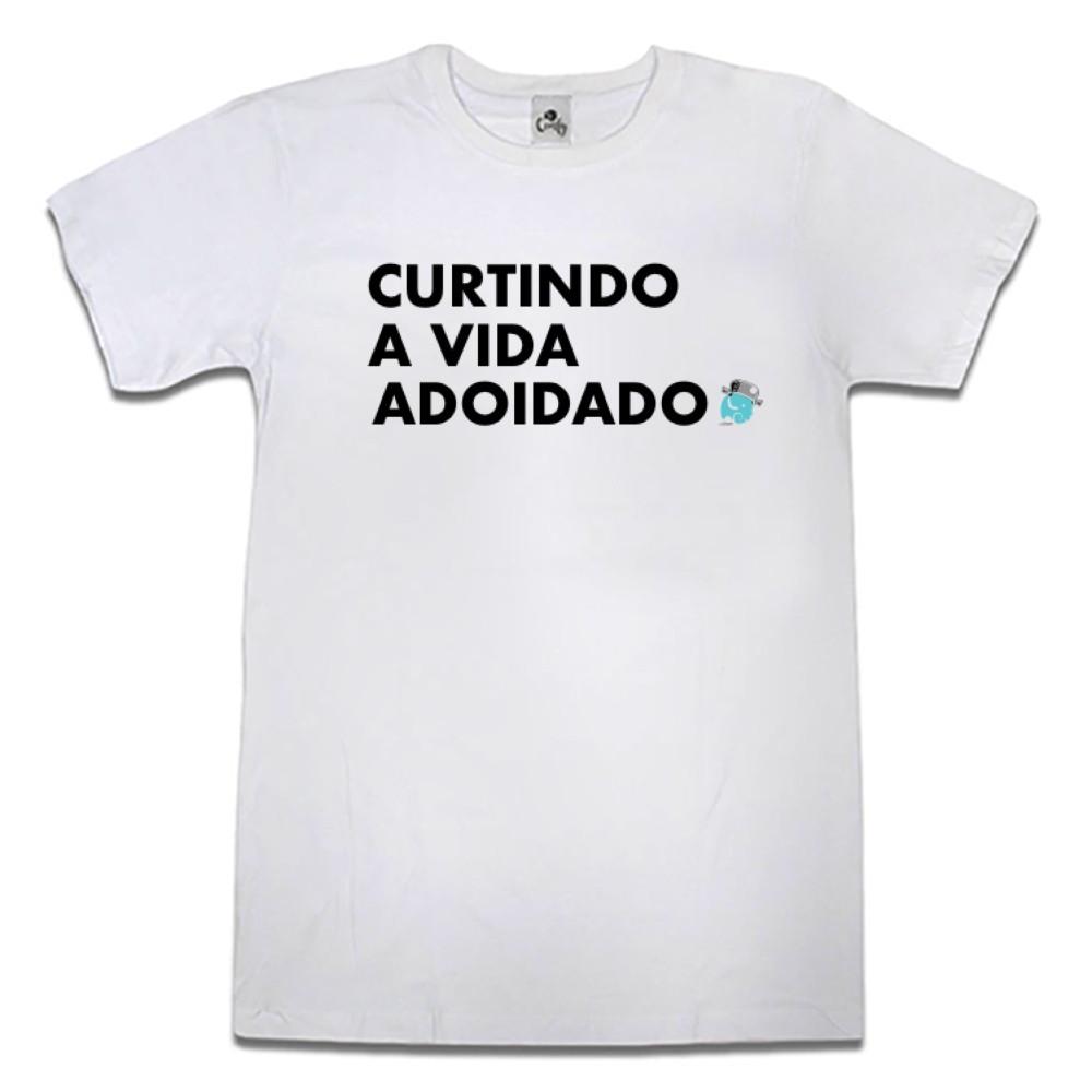 Camiseta Comfy Curtindo a Vida
