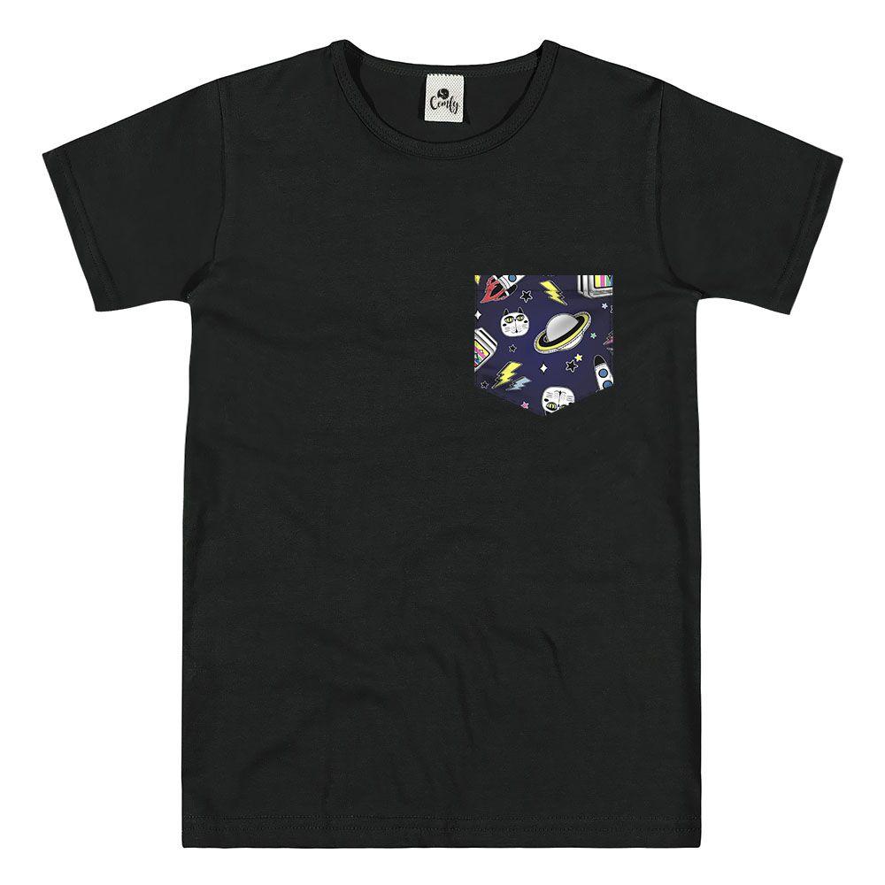 Camiseta Comfy Espaço