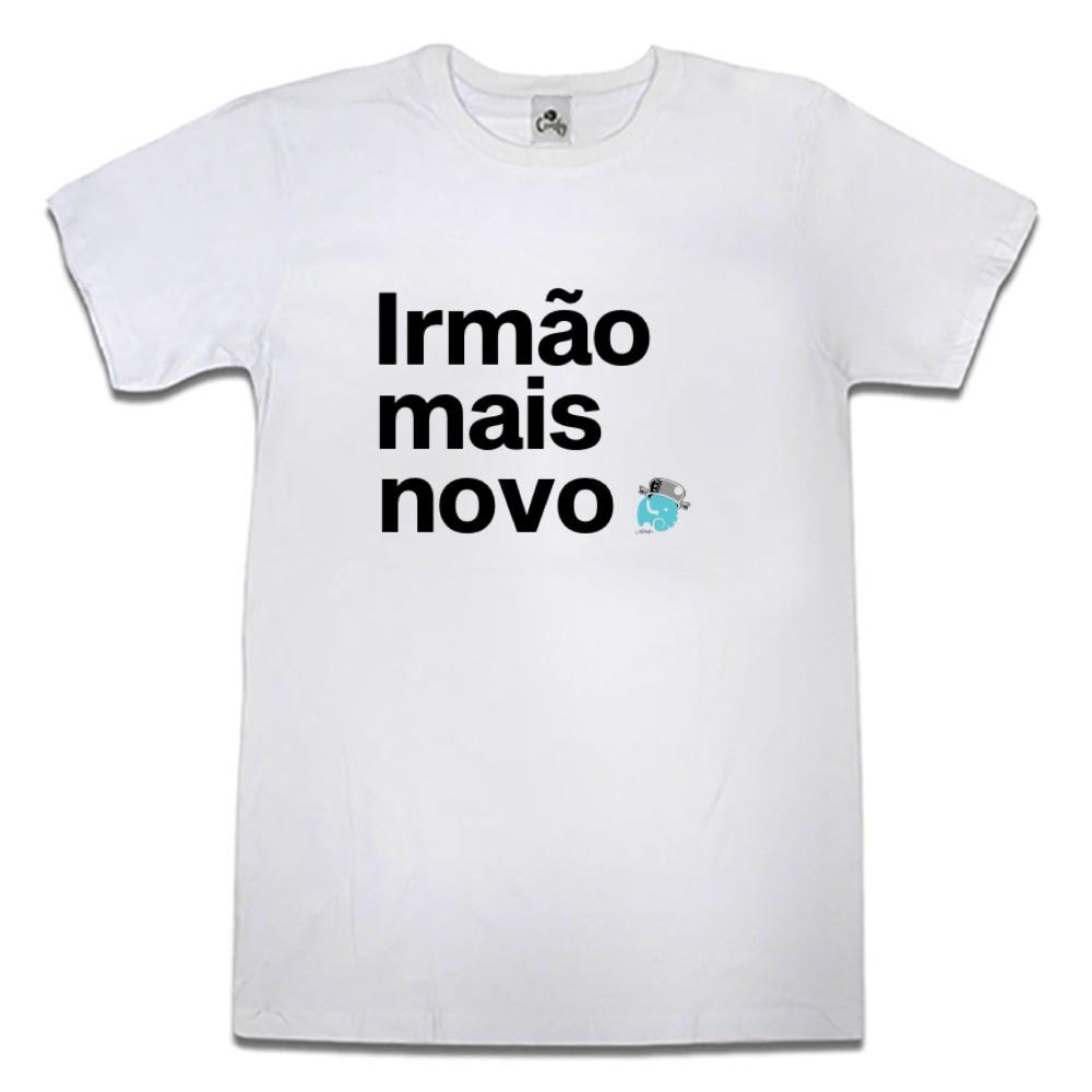 Camiseta Comfy Irmão Mais Novo