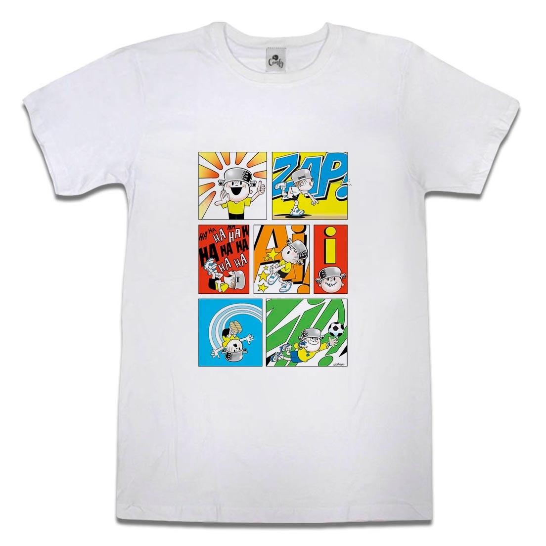 Camiseta Menino Maluquinho Gibi