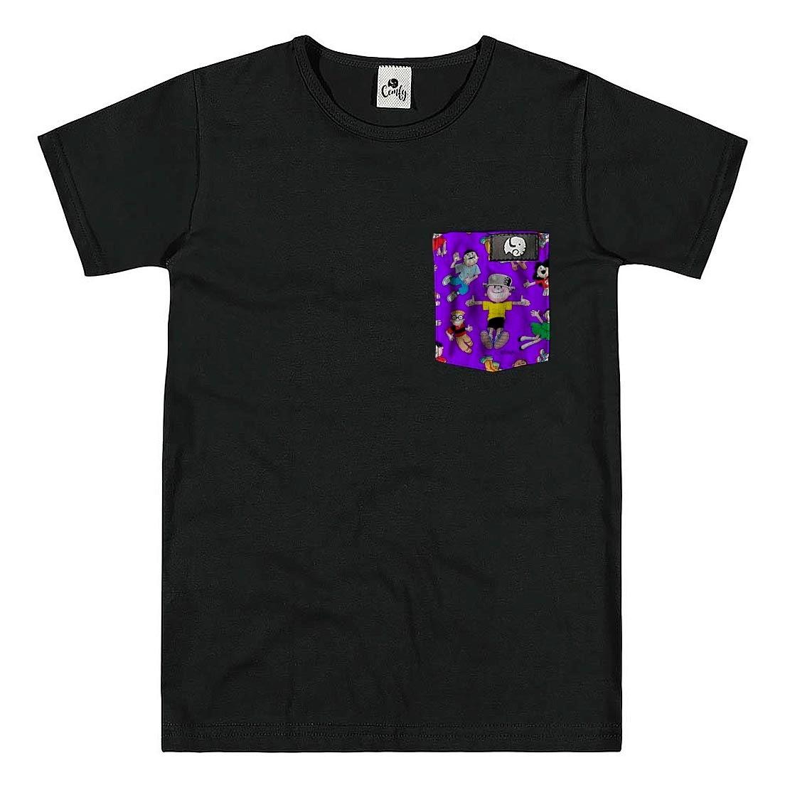Camiseta Comfy Menino Maluquinho Turminha