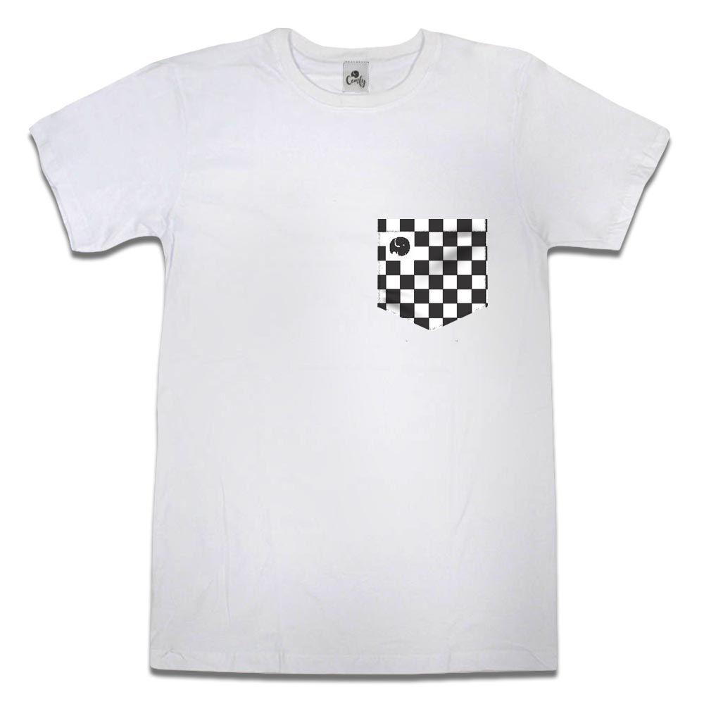 Camiseta Comfy Xadrez Black