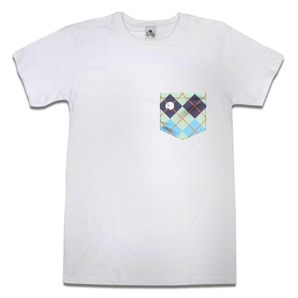 Camiseta Comfy Xadrez Color Blue