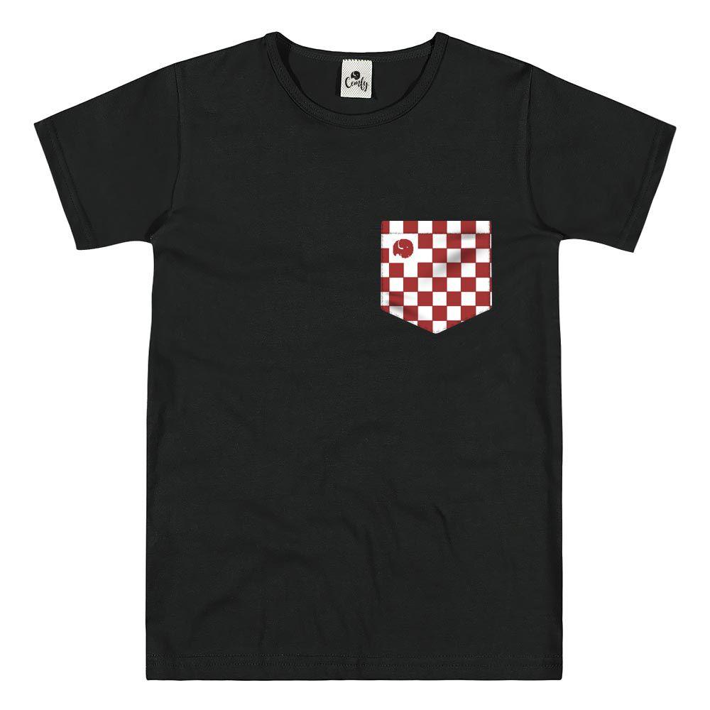 Camiseta Comfy Xadrez Red